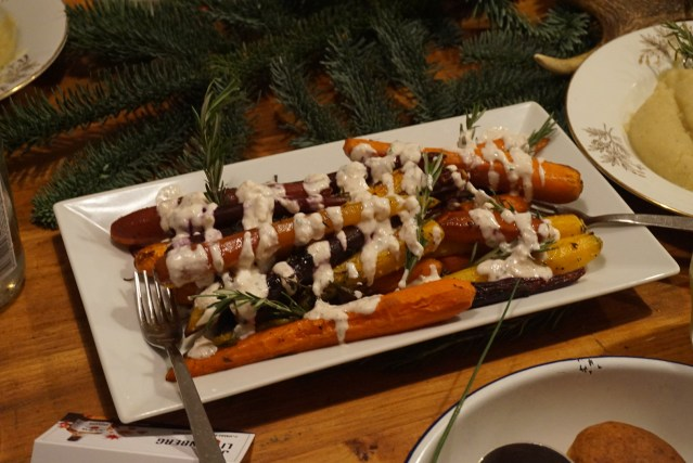 Roasted Rainbow Carrots en Picnic Restaurant