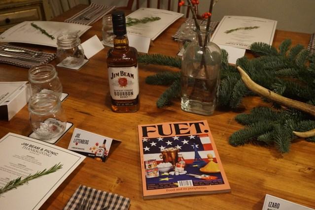 Fuet Magazine & Jim Beam