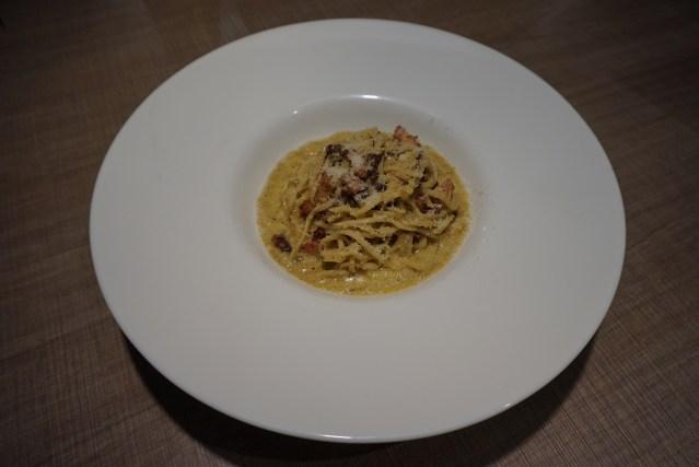Gola Taperia Spaghetti a la auténtica Carbonara