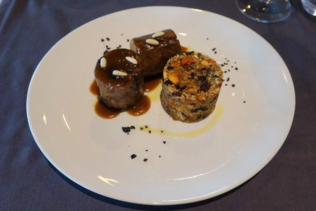 restaurant el centre meloso de cordero