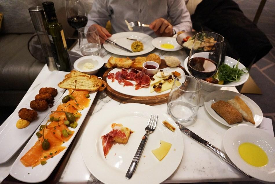 Restaurante B24 Hotel Fairmont Rey Juan Carlos I