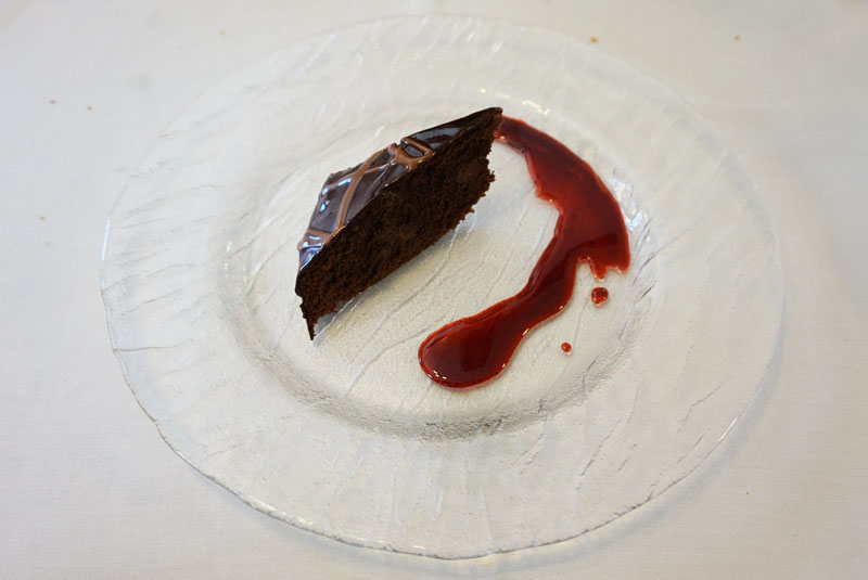 can formiga tarta sacher