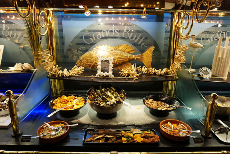 les grands buffets marisco