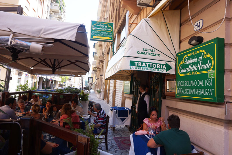 Al Cancelletto Verde Palermo