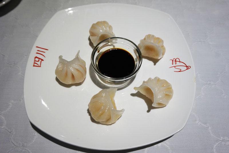 L'olla de Sichuan empanadillas al vapor