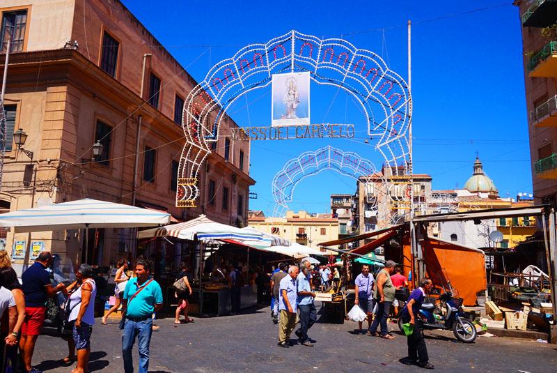 Mercato di Ballaro Palermo