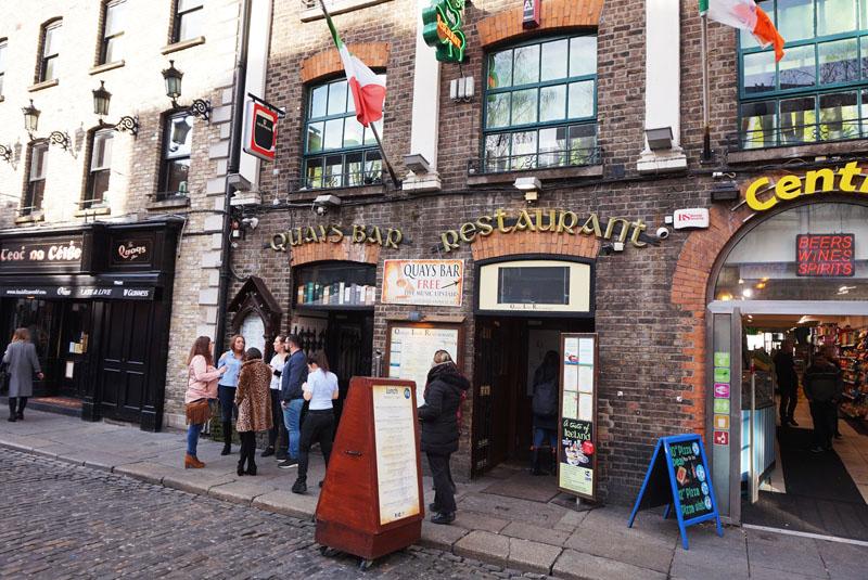 quays irish restaurant