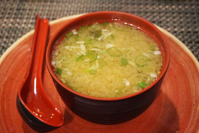 Yoku ramen restaurante sopa de miso