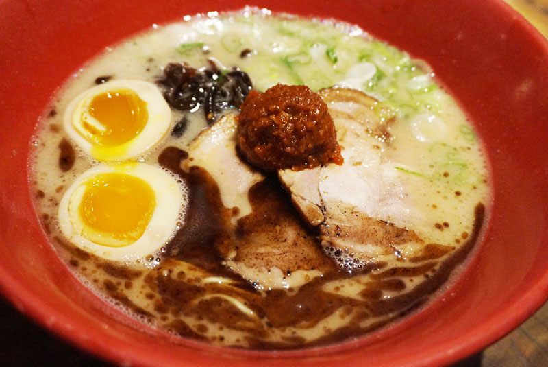 Menu Ippudo New york East Village Akamaru Modern Ramen