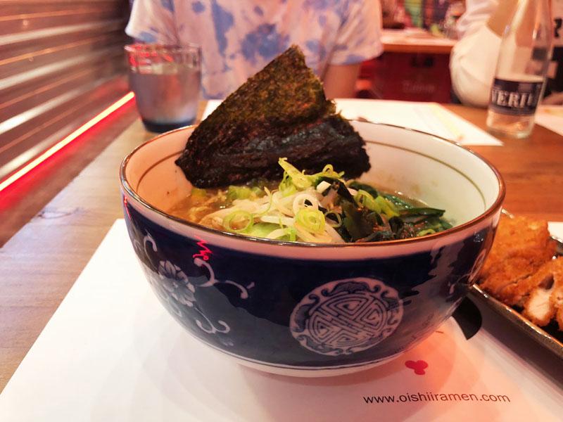 Oishii Ramen restaurant Barcelona