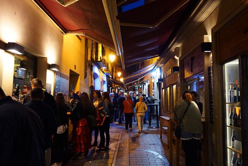 Tapas y Pinchos en Calle Laurel de Logroño