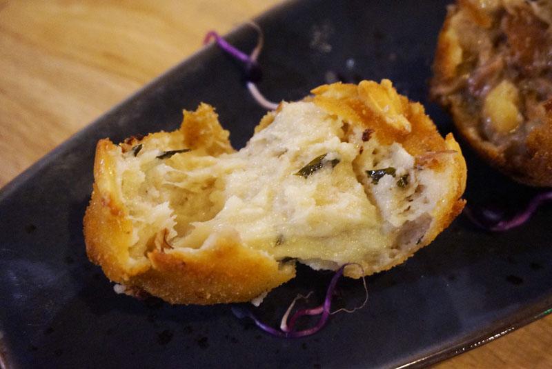 catacroquet bistrot Croquetas de Mozzarella de Búfala