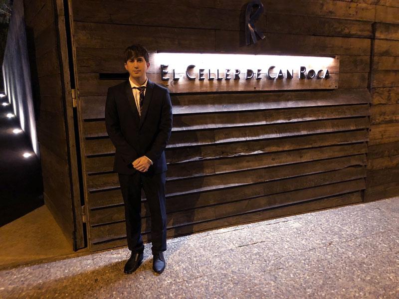 Visita de Yummy Barcelona a El Celler de Can Roca (3* Michelin) en 2018.