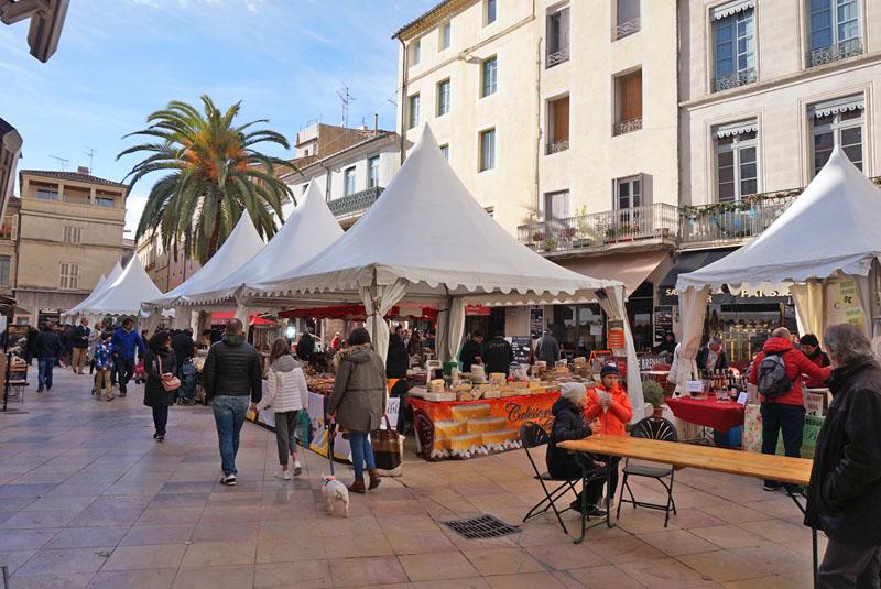 Fête de la Truffe de Nîmes les halles nimes