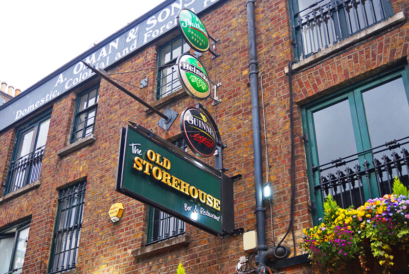 the old storehouse dublin