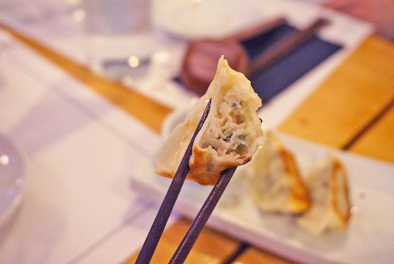 tonku ramen de gyozas