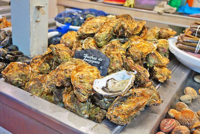 les halles sète ostras