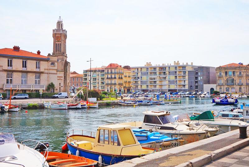 Sète Sur de Francia