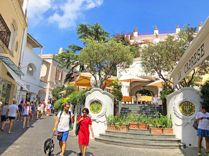 restaurante panorama capri