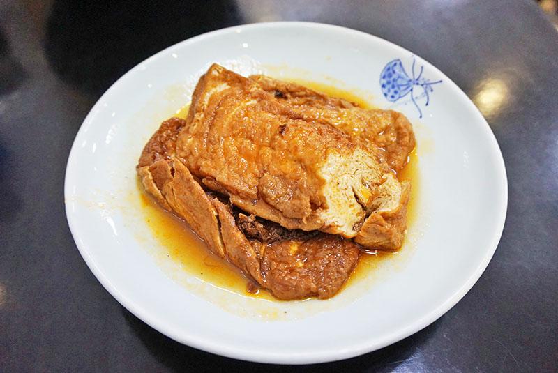 dazhong barcelona Tofu en salsa especial