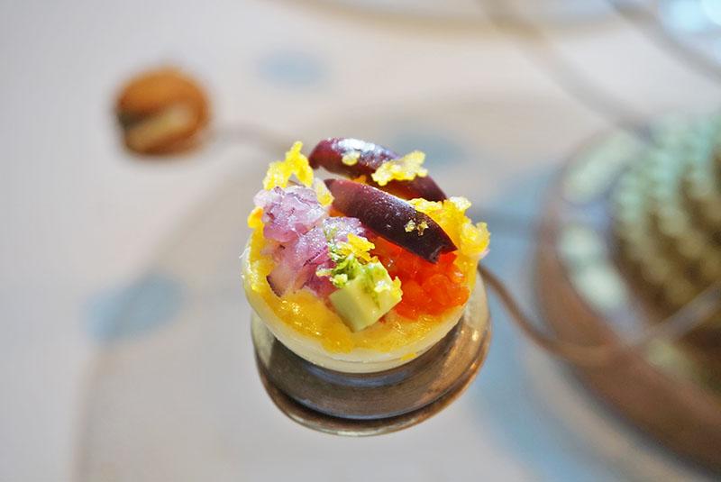 Perú, Aperitivos Comerse el mundo en el Menú Degustación de El Celler de Can Roca 2019