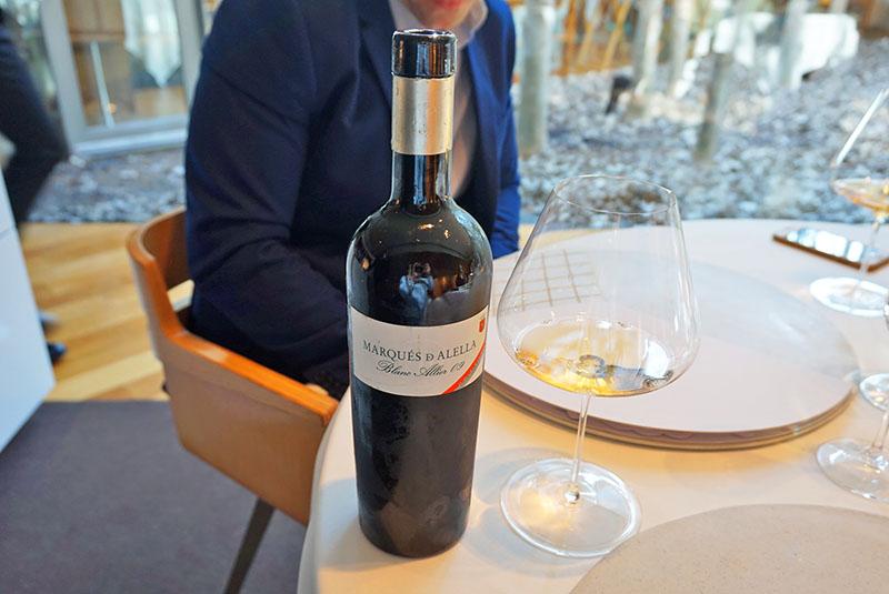 maridaje el celler de can roca 2019 vino marques d'alella