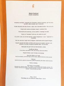 menu festival el celler de can roca 2019