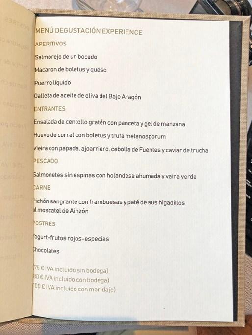 menu novodabo