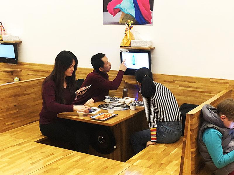 restaurante corea barcelona