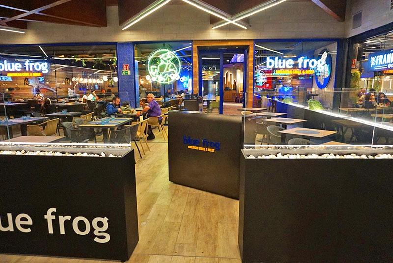 blue frog barcelona