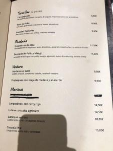 menu longan asian gastro