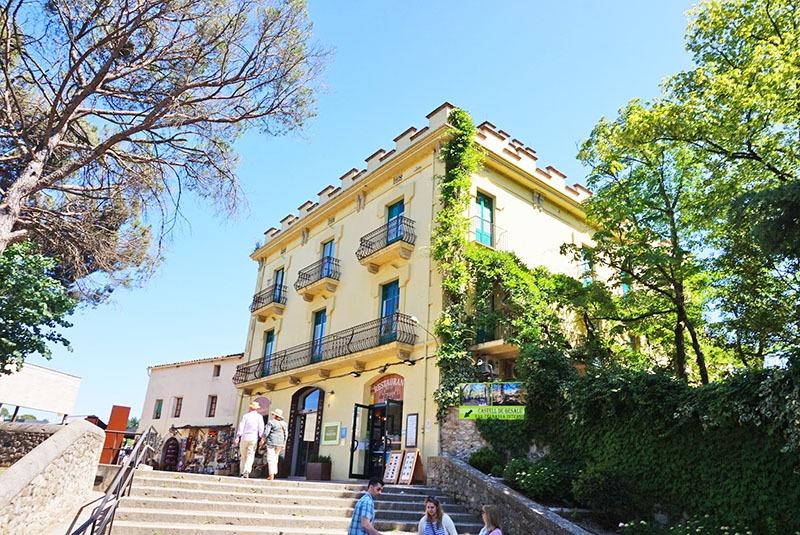 restaurante castell de besalu