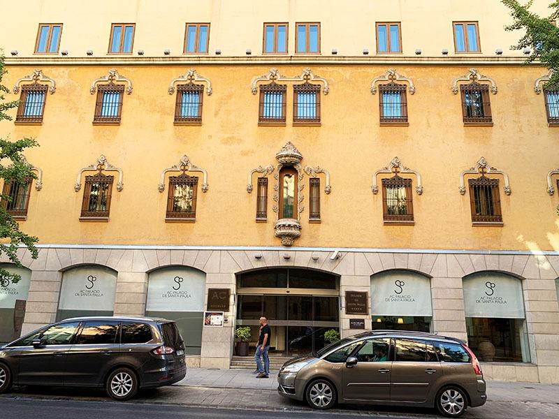 el claustro hotel santa paula granada