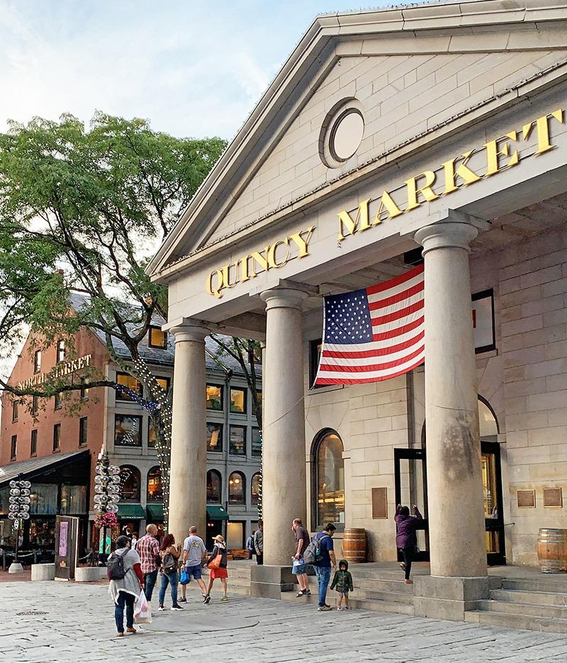 visita a boston quincy market