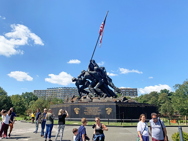 visita turística a washington