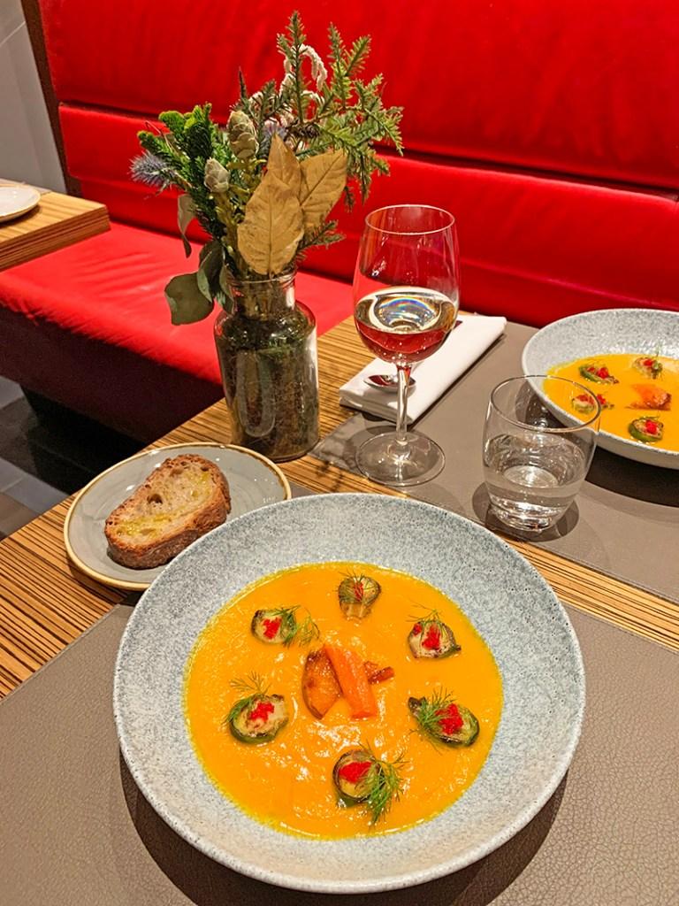 cena de Acción de Gracias del restaurante CentOnze