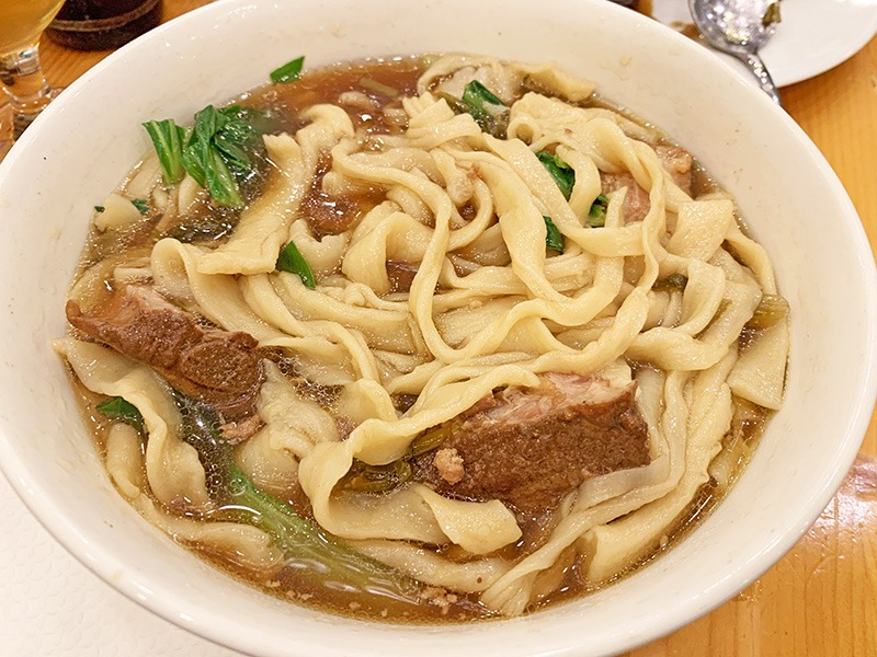 wenzhou noodle house restaurante chino 温州面馆ii