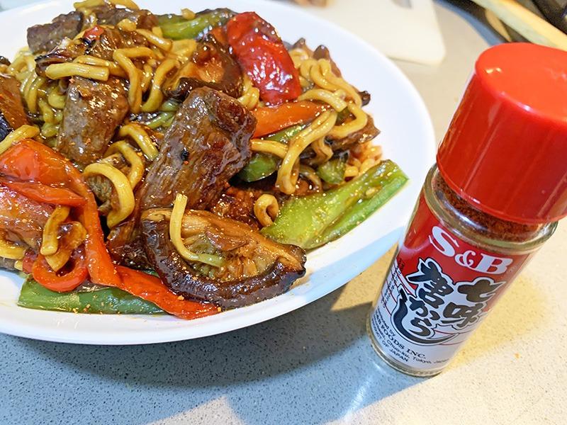 wagyu yakisoba receta