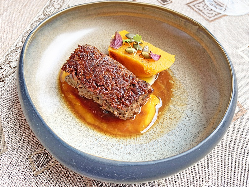 chef a domicilio bistronomy Rabo de Toro estofado.