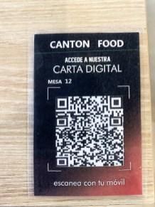 menu canton food