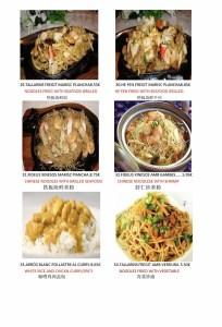 Carta del Restaurante chino Cuina Xinesa Tradicional