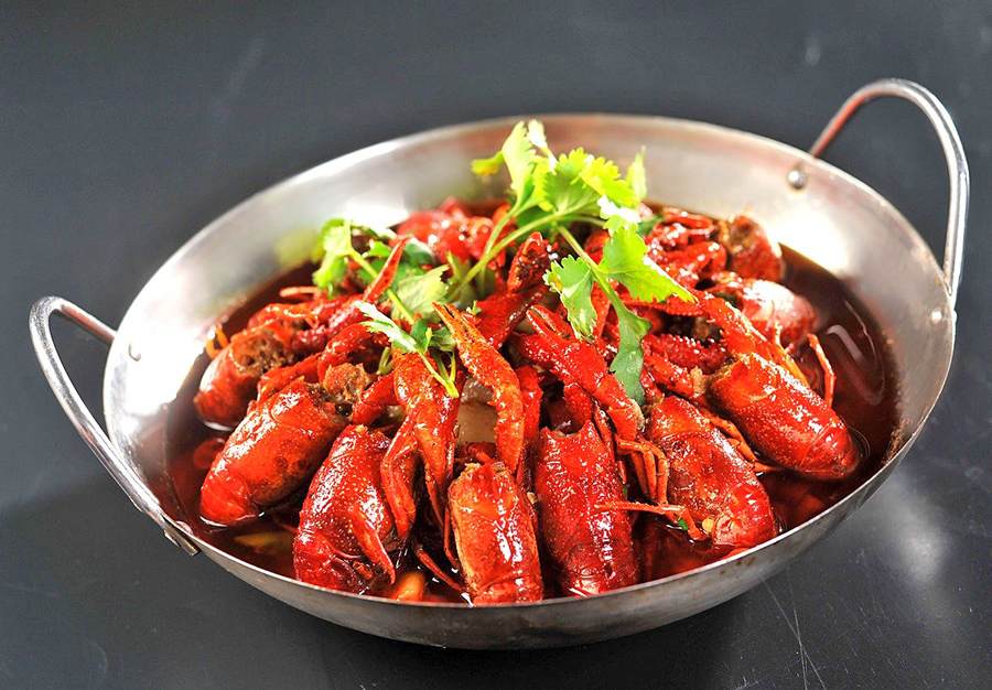 Cangrejos de río de Hunan