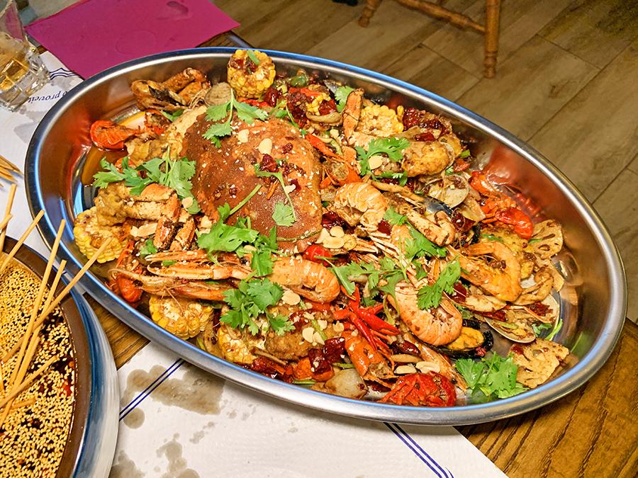 Restaurante Chengdu Cangrejo Marisco
