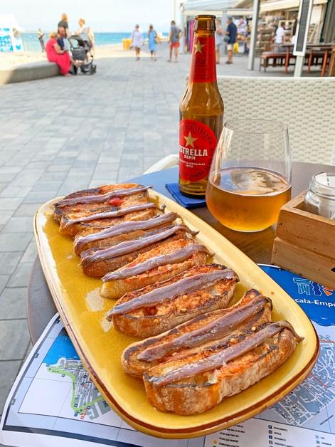 Restaurante en L'Escala