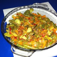 Easy vegetable bhaji