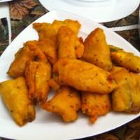 Beguni (Aubergine Fritters)