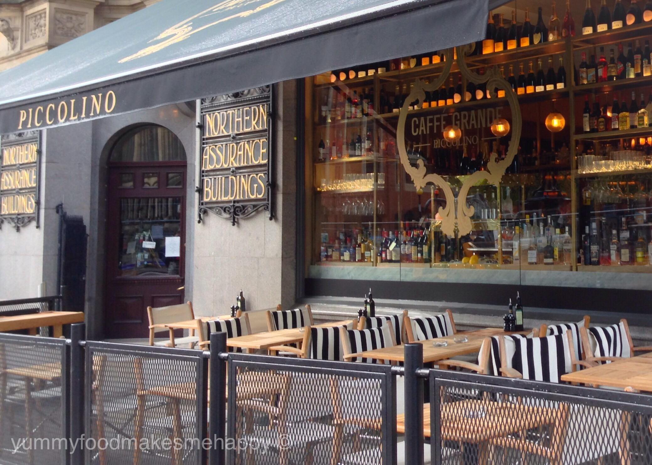 Caff Grande Piccolino Manchester An Authentic Italian