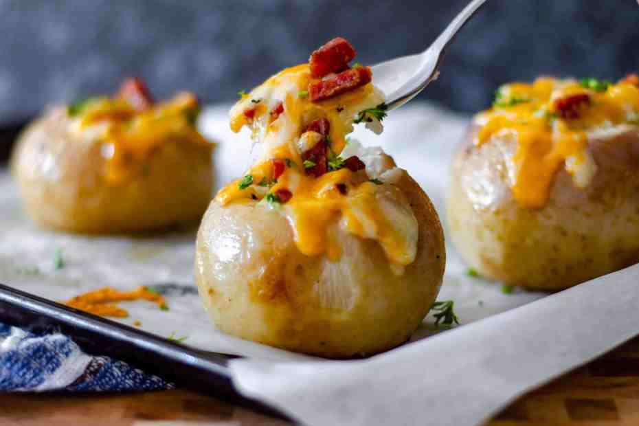 Low Carb Baked Turnip cheese pull
