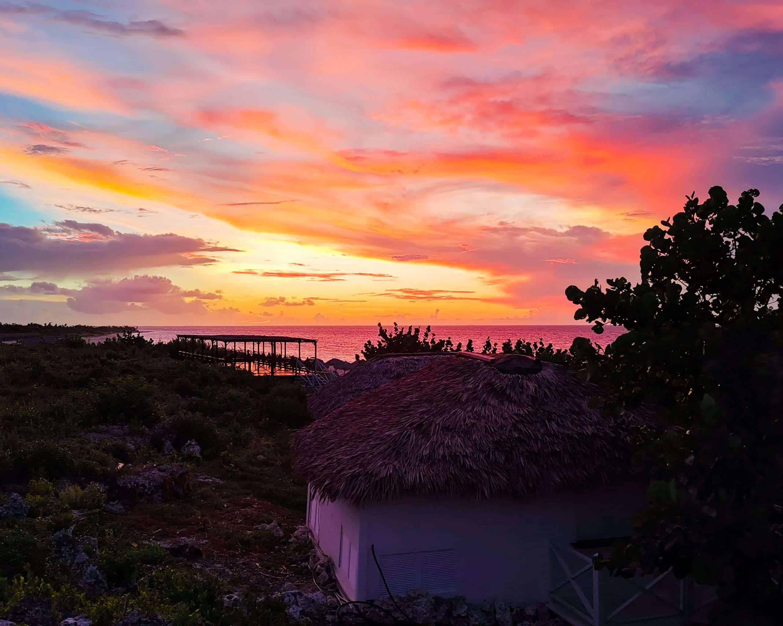 Cuban Sunset Cayo Coco Cuba 2019