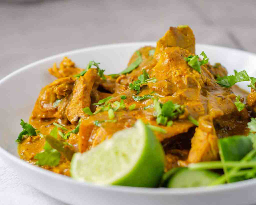 Low Carb Turkey Curry
